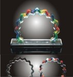 Ribbon Award Colored Acrylic Awards