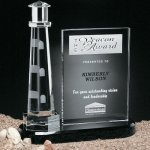 Journey Point Lighthouse Corporate Crystal Awards