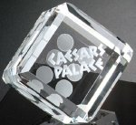Take a Chance Die Corporate Crystal Awards