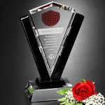 Conquest Award Crystal Glass Awards
