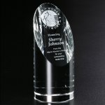Quantico Cylinder Crystal Glass Awards
