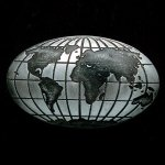 Global Pewter Accent Globe Awards