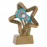 Stars and Stripes Resin Awards -Lacrosse Lacrosse Trophy Awards