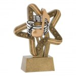 Stars and Stripes Resin Awards -Music Music Trophy Awards