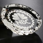 Faceted Gem Paperweight Paper Weight Crystal Awards