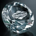 Diamond Paperweight Paper Weights