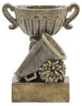 Sport Cup Antique Gold -Cheerleading Sport Cup Resin Trophy Awards