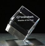 Cube Series Crystal Award Square Rectangle Awards