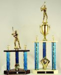 TR R, S, T, U, V & W Three Column Trophies