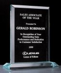 Apex Series Acrylic Award on Acrylic Base. Traditional Acrylic Awards - Our Best Sellers