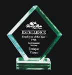 Economy Beveled Polygon Acrylic Award Traditional Acrylic Awards - Our Best Sellers