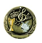 MUSIC Tri-Color Metal Style (TR2)