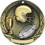 Tri-Colored Series Medals -Football Tri-Colored Medal Awards