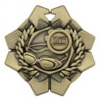 Imperial Medals -Swimming  Wreath Medal Awards