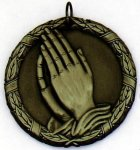 PRAYING HANDS Wreath Style (XR2)